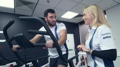 Training with F1's fastest pit crew