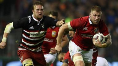 NZ Barbarians v Lions