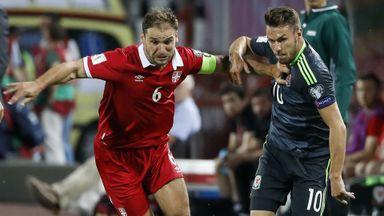 Serbia v Wales