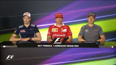 Azerbaijan GP -Drivers Press Conference