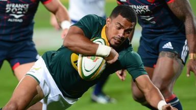 Highlights: South Africa 35-12 France
