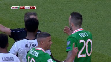 Ireland winner ruled out by ref