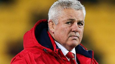 'Gatland wrong to leave players on bench'