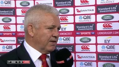 Gatland: We were smart