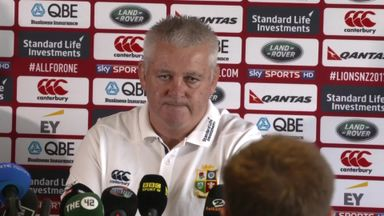 Gatland: We need to be bold
