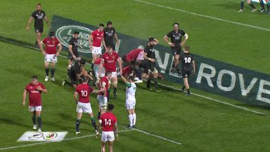 All Blacks v Lions: Ref watch