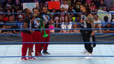 New Day gatecrash Usos win