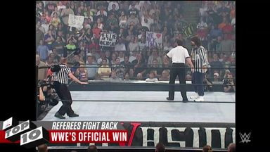 WWE Top 10: When referees fight back