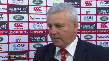 Gatland defends not using the bench
