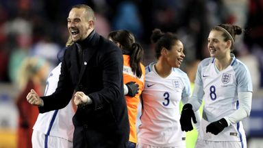 Sampson: England ahead of schedule