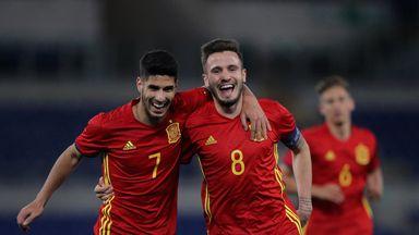 Spain U21 5-0 Macedonia U21