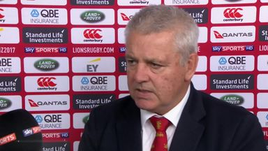 No excuses from Gatland