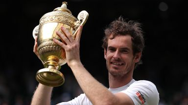 Murray admits Wimbledon nerves