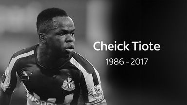 Hughton remembers Tiote