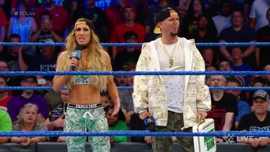 Carmella address controversy