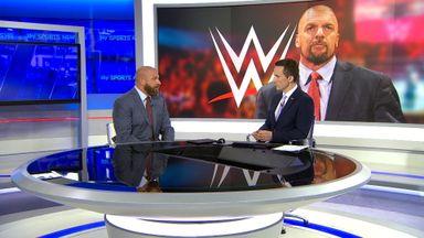 Triple H defends women's ladder match