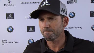 Sergio shares BMW lead