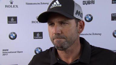 Sergio shares BMW lead