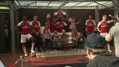 Arsenal unveil new home kit