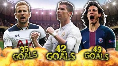 Top 10 most lethal strikers