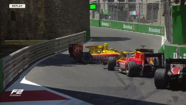 F2 mayhem in Azerbaijan