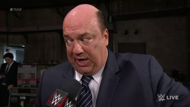 Heyman sounds off on Samoa Joe