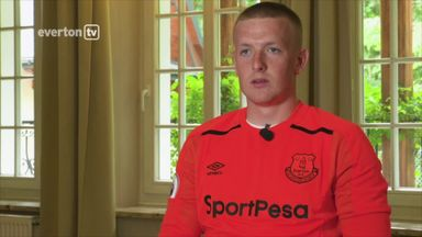 Pickford thrilled with Everton move