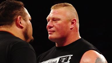Lesnar v Joe heats up!