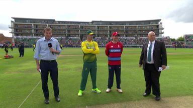 Eng v SA 2nd T20: Toss