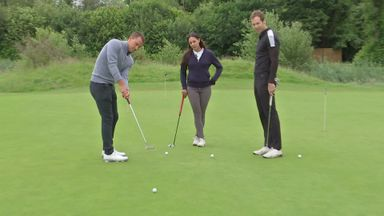 Footballers on the Fairway: Terry v Cech