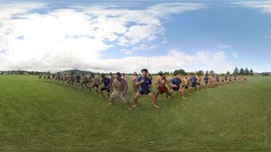 Watch the Haka in virtual reality