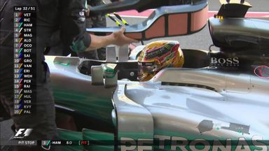 Headrest denies Hamilton victory