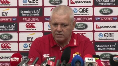 Gatland makes changes