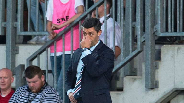 Former Rangers striker and Director Gordon Smith says losing to part-timers Progres Niederkorn will put pressure on manager Pedro Caixinha