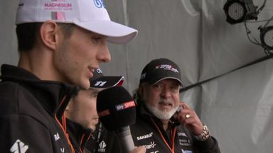 Force India meet fans