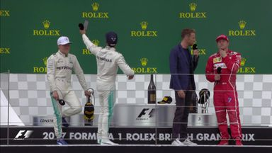 Top three interviews - Silverstone