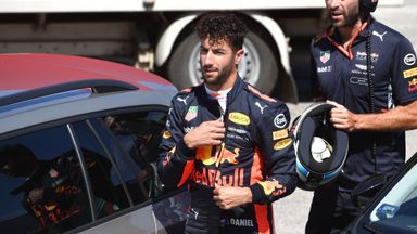 Ricciardo: Max move 'amateur'