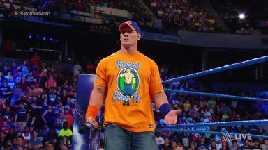 Cena to face Nakamura on SmackDown