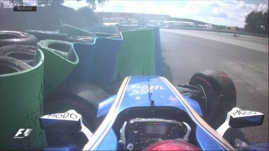 Big crash for Wehrlein