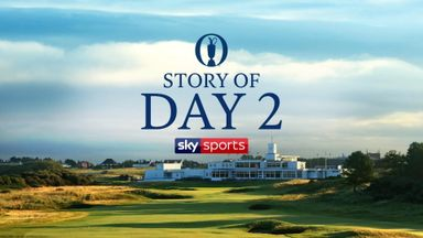 The Open - Story of Day 2