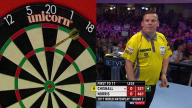 Chisnall's incredible opener