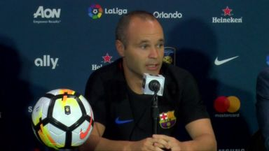 Iniesta: Neymar needs to sort his future