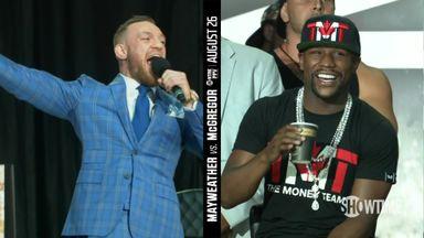 Mayweather & McGregor in Toronto