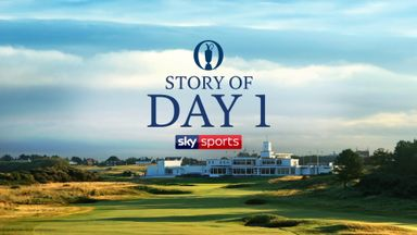 The Open - Story of Day 1