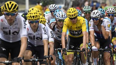 Froome: Team-mates saved me