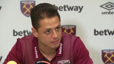 Chicharito: West Ham show ambition