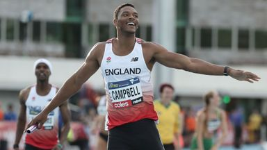 Campbell: Love Island was a backup