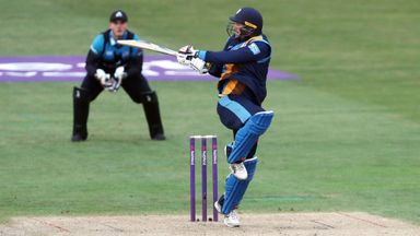T20 Blast: Derbyshire beat Worcs
