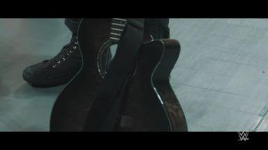 Samson's guitar attack in slow-mo