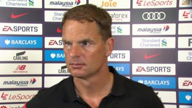 De Boer hails Palace fight
